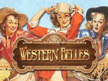 Игровой слот Western Belles выигрыши от топ красоток из Дикого Запада