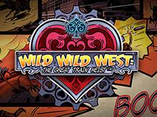 Новый слот Wild Wild West: The Great Train Heist с крупными ставками